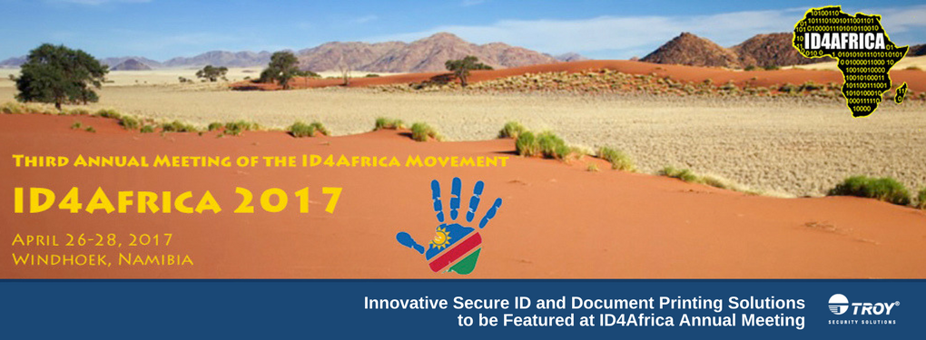 TROY Exhibits at ID4Africa 2017